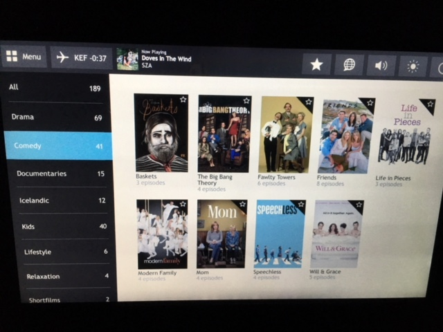 Netflix airplane TV 2