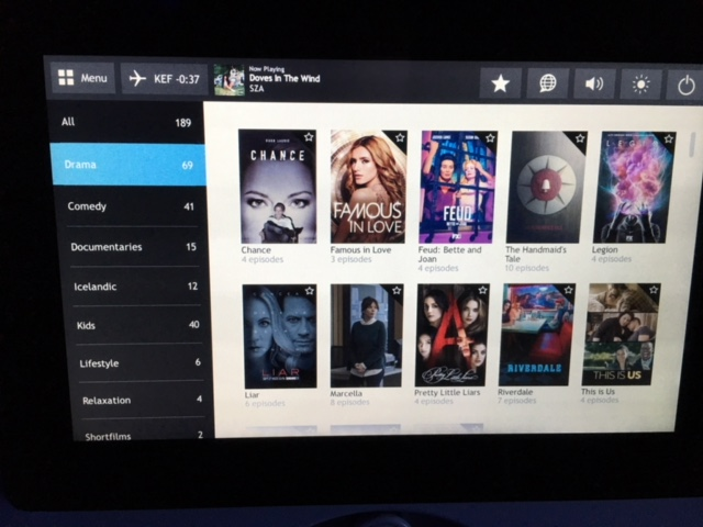 Netflix airplane TV